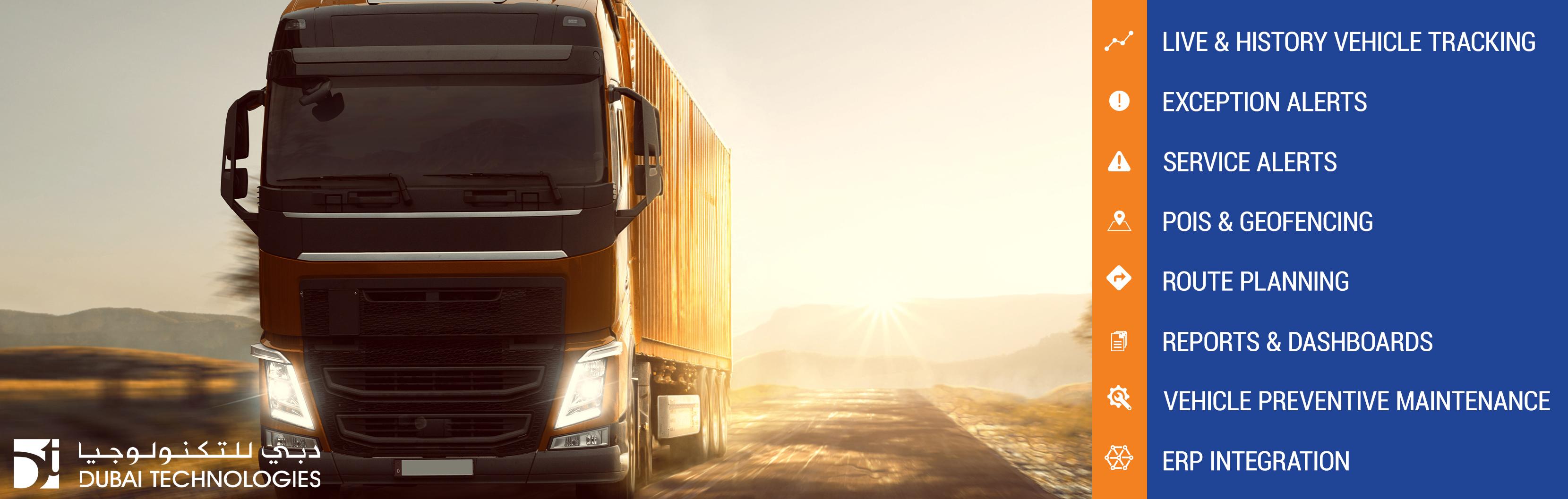 Intelligent Fleet Management - Dubai Technologies